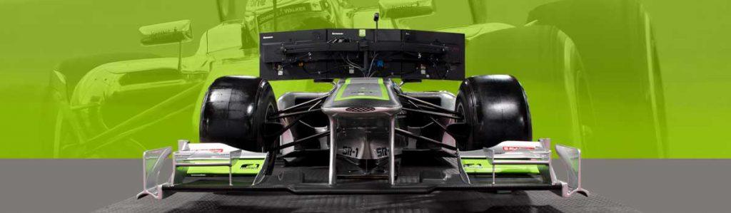 Formula One simulation