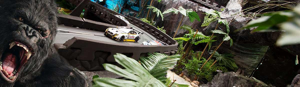 King Kong Scalextric circuit at Stonerig Raceway