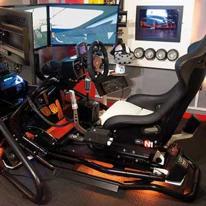 Touring Car Race Seat simulation 15 minutes VR
