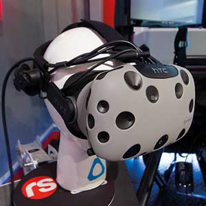 Touring Car Race Seat simulation 30 minutes virtual reality wit HTC Vive at Stonerig Raceway.