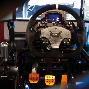 Touring Car Race Seat simulation 45 minutes