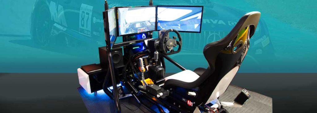 Touring car simulation