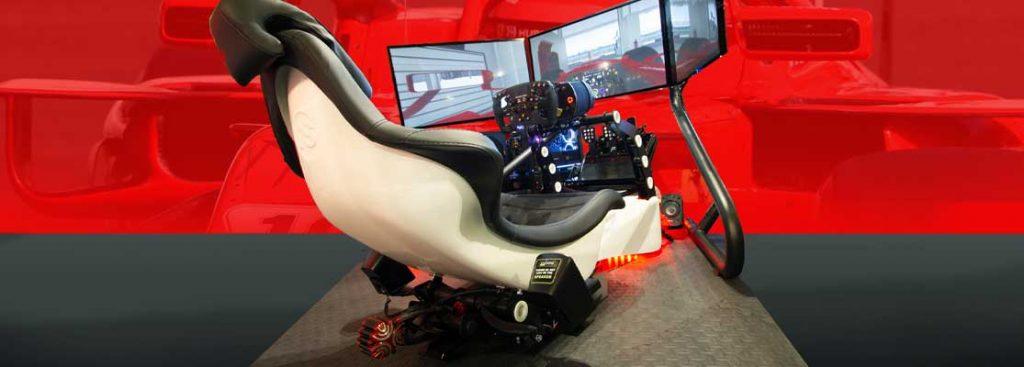 Formula One Race Seat simulation