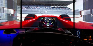 Formula One Race Seat simulation 45 minutes