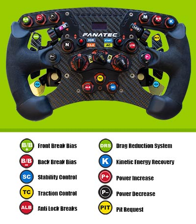 Formula One steering wheel