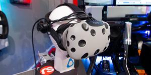 Touring Car simulation virtual reality