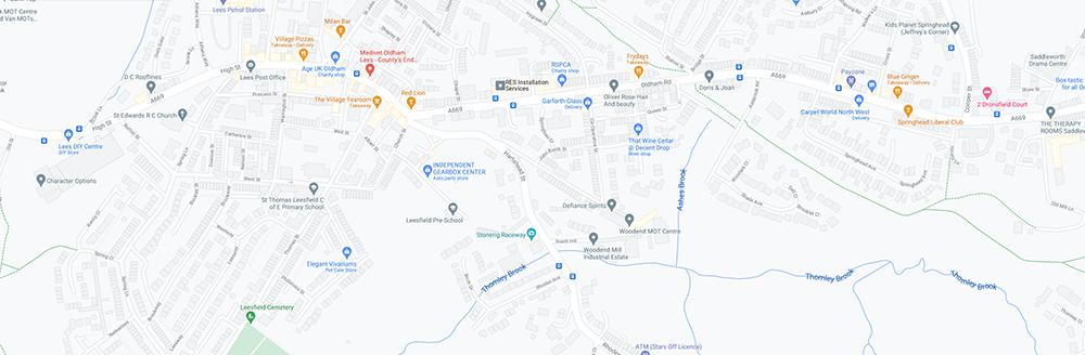 Stonerig Raceway google maps