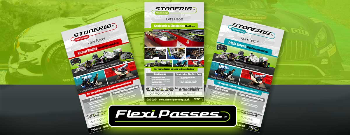 Scalextric and simulation felxi passes